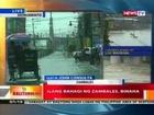BT: Ilang bahagi ng Zambales, binaha