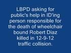 Hit and Run Kills Wheelchair Bound Man
