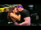 Zack Ryder Kisses Eve Torres - WWE Raw