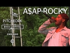 A$AP Rocky performs at Pitchfork Music Festival 2012