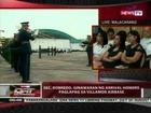 QRT: Sec. Robredo, ginawaran ng departure honors bago ilipad pa-Maynila
