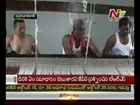 Traditional Gadwala Jodu Panchelu for Lord Venkateswara swami