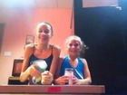Kira pleska and mackenzie ziegler cups! (FAIL)