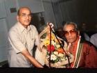 Pt.Brij Bhushan Kabra,innovator of slide guitar techniques in India presenting Raga Alahiya Bilawal.