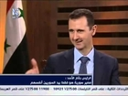 Syria - President Bashar al-Assad's interview with Addounia TV TOMORROW
