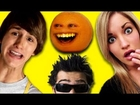 Kids React to YouTube Stars (Fred, MysteryGuitarMan, Annoying Orange, iJustine)