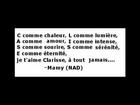 CLARISSE de Nadine Bardieu musique et interpretation de Felix Abenhaim