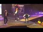 Justin Bieber Puking On Stage During Performance