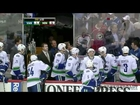 Rick Rypien Attacks Minnesota Fan (HD 720p Multifeed)