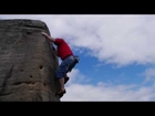 Damo Bouldering The Brick, Burbage South, Derbyshire [Filmed & Produced by Doug Blane]