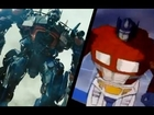 Transformer 80s cartoon movie mash up
