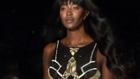 Naomi Campbell walks in Diane von Furstenberg fashion show