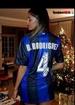 Belen Rodriguez Sexy indossa la maglia dell' Inter