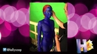 First Look of Jennifer Lawrence In Hot Blue 'X-Men' Sequel Body Paint
