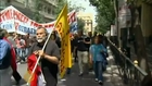 Greek anger over austerity measures