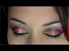 Maquillage de Soirée Ultra Coloré